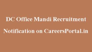 DC Office Mandi
