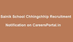 Sainik School Chhingchhip